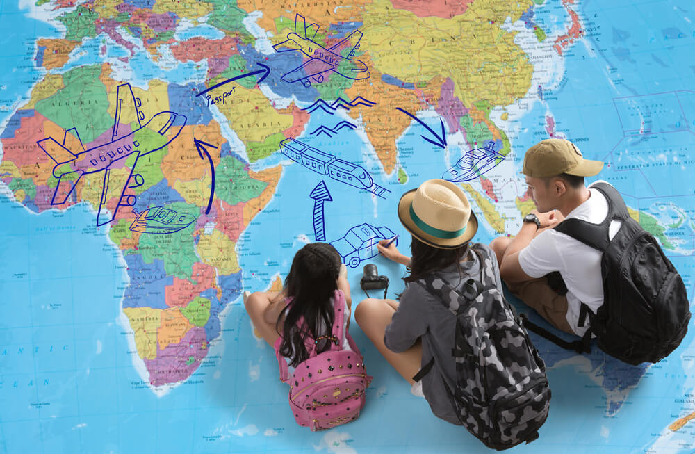 Travelling with children vaccination
