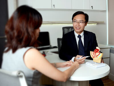 Gynaecologist A/Prof Fong Yoke Fai SMGWH